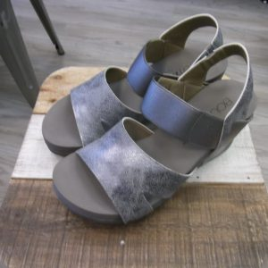 "The ""Carley"" Silver Wedge"