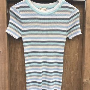 Blue Stripe Top