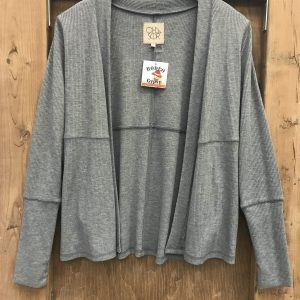 Grey Cardigan with pockets