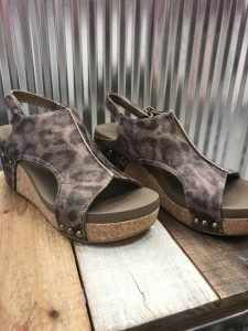 Corky's Leopard Wedge