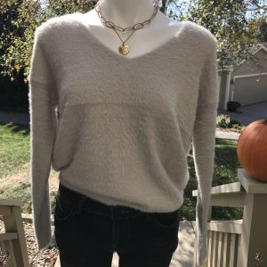 HyFve Ivory w/Gold Flecks Sweater