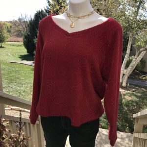 Cinnamon Spice Fuzzy Sweater