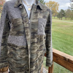 Mystree Camo Jacket with Wool Lining
